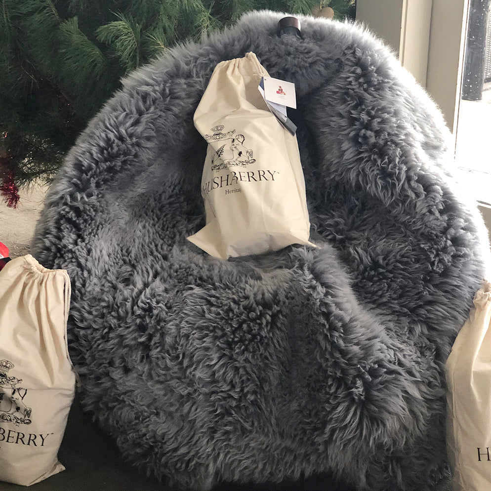 Woolly Sheepskin Bean Bag