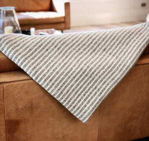 Large Stripe Throws