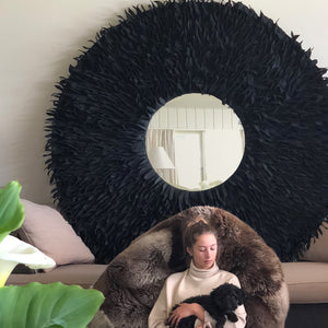 Wool Wall Mirror