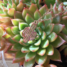 Metal Cactus Necklace