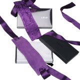 Lelo Etherea Silk Cuffs (Purple, Black or Red)
