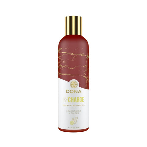 DONA Essential Massage Oil Lemongrass & Ginger - 120mL