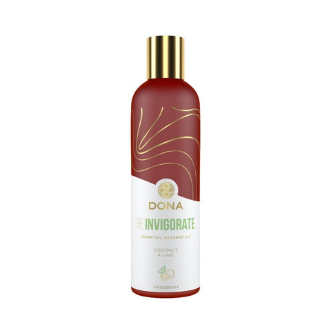DONA Essential Massage Oil Coconut & Lime - 120mL
