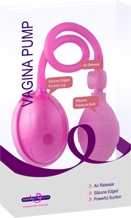 Vagina Pump (Pink or Black)