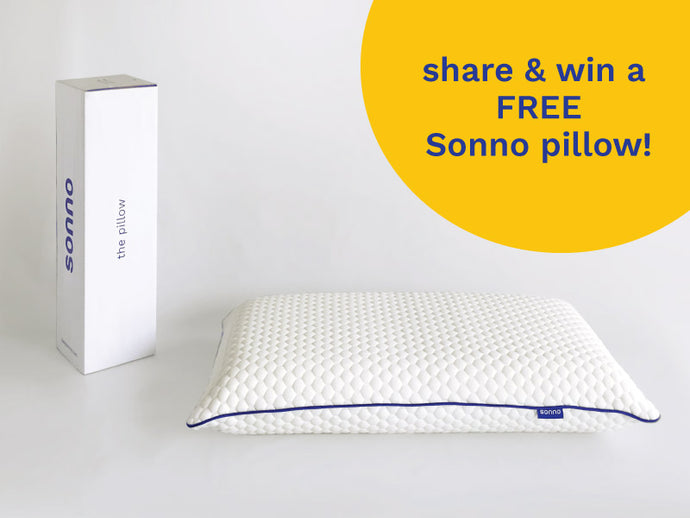 Win a FREE* Sonno the pillow Worth RM199