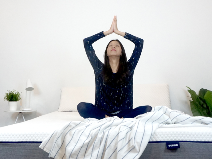 6 Yoga Poses You Can Do in Bed Every Morning