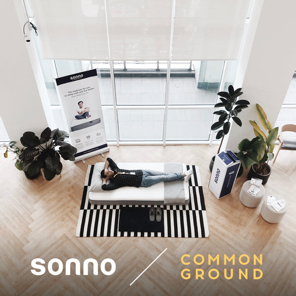 sonno rooms launch at common ground co-working