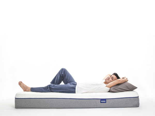 sleeping on sonno mattress trial