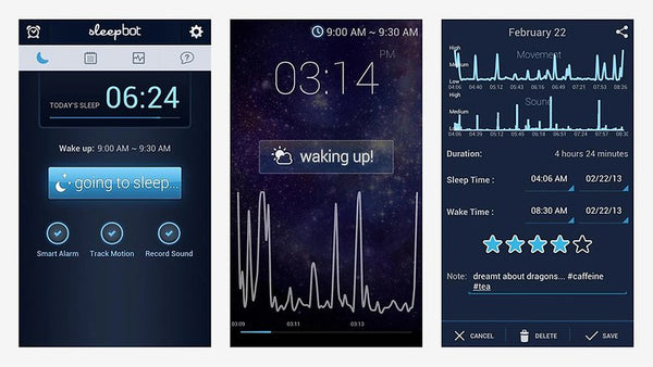 android-sleepbot-app-screens