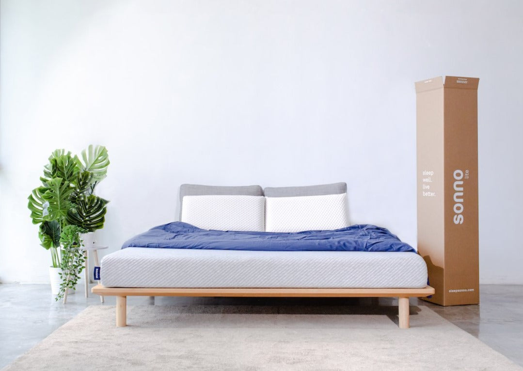 sonno lite mattress bedroom