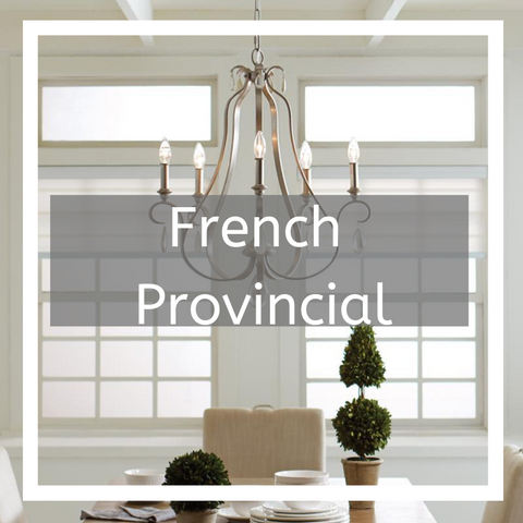 French provincial lighting