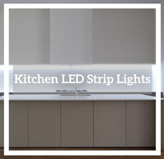 A Clickable Photo of Kitchen LED strip lighting to the Kitchen strip light Collection Page