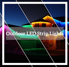 A Clickable Photo of outdoor LED strip lighting to the outdoor LED strip light Collection Page