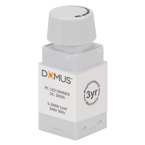 LED Dimmer 200W to Suit Domus Range of Dimmable Products Domus Lighting - 20505
