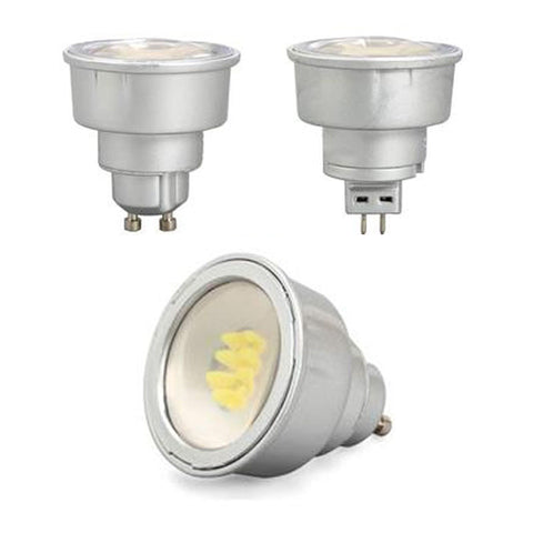LED Globe GU10 Or MR16 Dimmable CRI>90 330 Lumens 3K, 4k or 6k 75003X