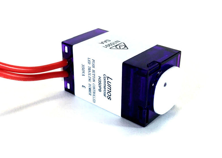 AU Rotary LED Dimmer 350VA Trailing Edge Phase Lumos