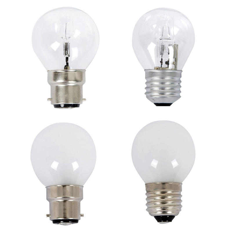 Fancy Round Halogen Globes 18W/28W B22/E27/B15/E14 Dimmable Clear/Frosted  CLA Lighting - PL-CLAHAFR