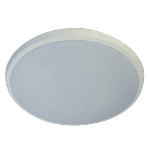 Lunar Oyster Light LED 300mm 38W Dimmable 3000K/5000K White/Brushed Nickel Martec Lighting MLLO3038, MLLO5038