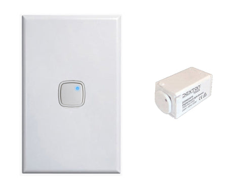 LED Downlight Push Button Dimmer With Mini Light Trailing Edge, LUM-H350PB