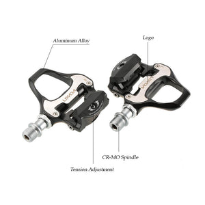 Road Bike Sealed Pedals Spd Sl Compatible Bike Pedals