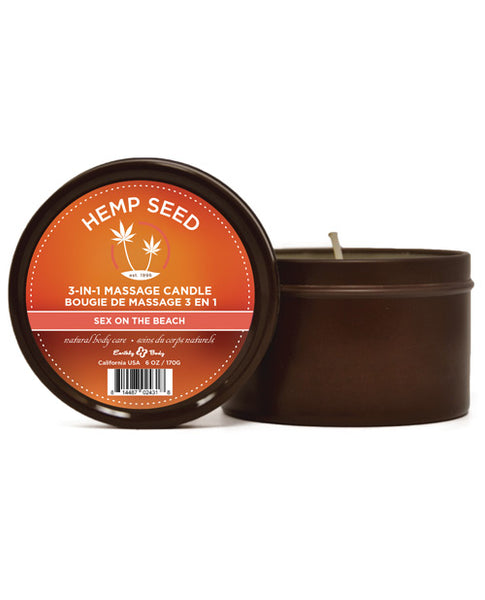 Sex on the Beach Massage Candle - Eros Fine Goods