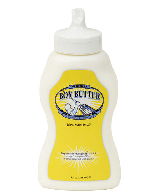 Boy Butter 9oz Squeeze - Eros Fine Goods