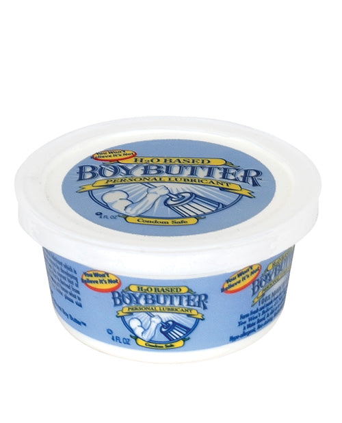 Boy Butter H20 4oz Tub - Eros Fine Goods