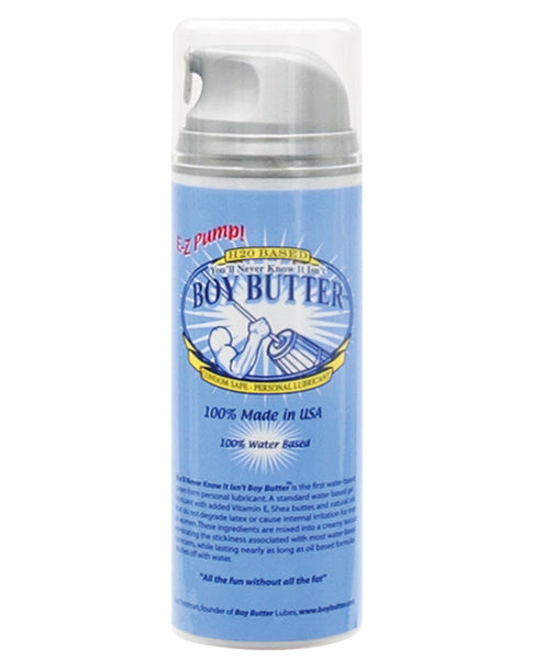 Boy Butter H20 5oz Pump - Eros Fine Goods