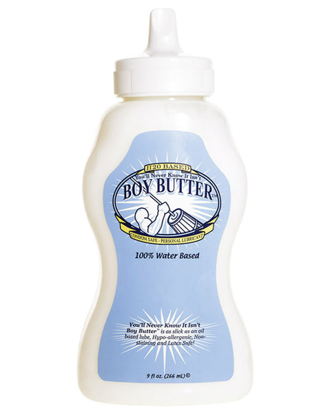 Boy Butter H20 9oz Squeeze - Eros Fine Goods