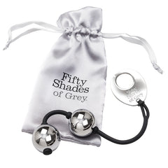Fifty Shades - Inner Goddess Silver Metal Pleasure Balls