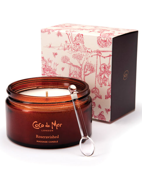 Roseravished Massage Candle