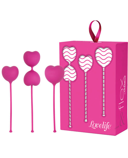 OhMiBod Lovelife Flex Kegels - Set Of 3