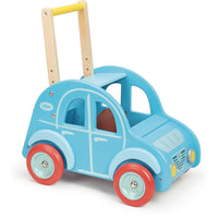 Vilac Retro Wooden Toy Car Pusher and Walker - Grace Baby