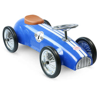 Vilac Speedster Racing Metal Ride On Car - Blue - Grace Baby