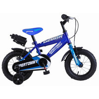 Super Max SuperTommy Demon Blue 12 Inch Kids Bike - Grace Baby
