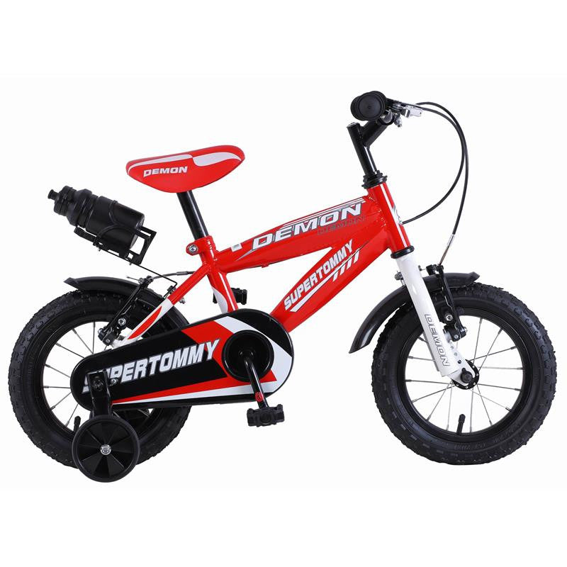 Super Max SuperTommy Demon Red 12 Inch Kids Bike - Grace Baby