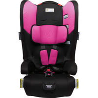 Infa Secure Racing Kid Convertible Booster Seat - Pink Swirl - Grace Baby
