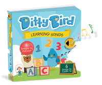 Ditty Bird Interactive Musical Book - Learning Songs - Grace Baby