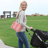 Infantino Savvy Bag Nappy Changing Clutch - Red