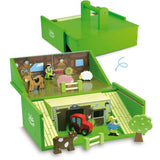 Farm Set in Suitcase by Vilac - Grace Baby