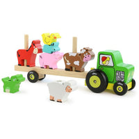 Vilac Stacking Tractor with Animals Play Set - Grace Baby