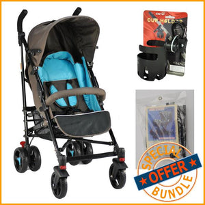 Grace Baby Flexi Buggy Stroller, Plus Accessories - Package Deal