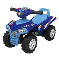 Toddler Kids Sport ATV Ride-On Toy Mini Quad Bike - Blue - Grace Baby