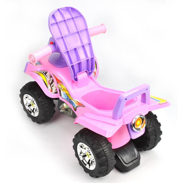 Toddler Kids Sport Atv Ride On Toy Mini Quad Bike Pink Grace Baby