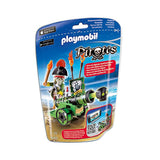 Playmobil Pirate - Green Interactive Cannon with Pirate Captain - 6162 - Grace Baby