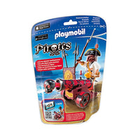 Playmobil Pirates - Red Interactive Cannon with Buccaneer - 6163 - Grace Baby
