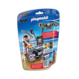 Playmobil Pirates - Black Interactive Cannon with Raider - 6165 - Grace Baby