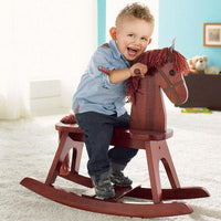 123 Grow Wooden Rocking Horse