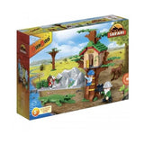 BanBao Safari - Animal Ground Tree House 6656 - Grace Baby