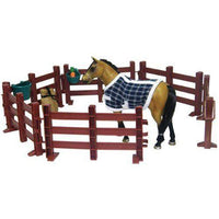 Saddle Pals Quarter Horse and Fences Set